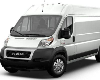 New 2021 RAM ProMaster High Roof 159 WB FWD Cargo Van