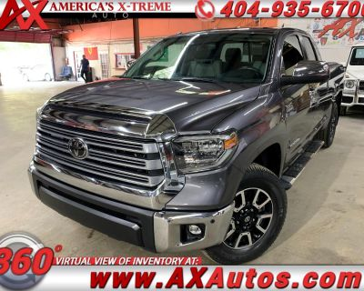 2018 Toyota Tundra Limited 5.7L Double Cab 2WD