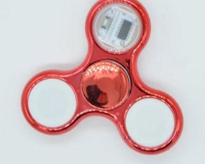 LED Crystal Fidget Spinner |ShoppySanta