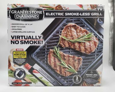 New Indoor Smoke-less Grill