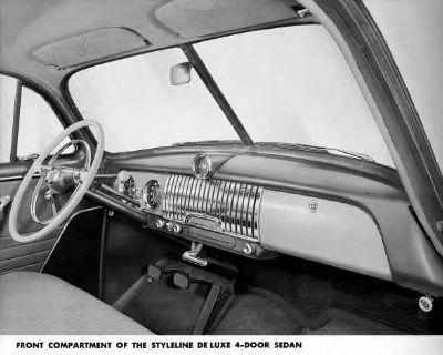 1951-1952 Styleline/Fleetline - Chrome Speaker Grille