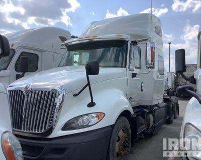 2015 International ProStar + 122 6x4 T/A Sleeper Truck Tractor