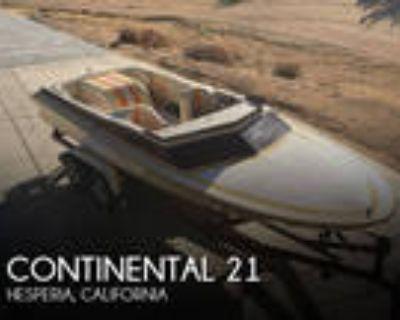 21 foot Continental Boats 21