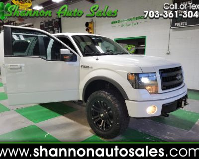 Used 2013 Ford F-150 FX4 SuperCrew 5.5-ft. Bed 4WD