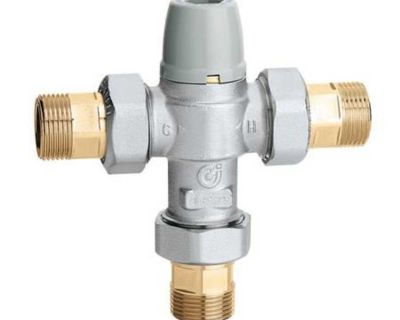 Scald Protection Point-of-Use Thermostatic Mixing Valve (NPT)