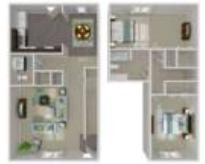 Greenbriar Mill - 2 BEDROOM TOWNHOUSE
