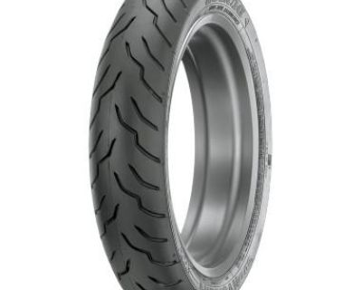 Harley Davidson Dunlop American Elite 130/80b17, 65 H, Black, Front Tire