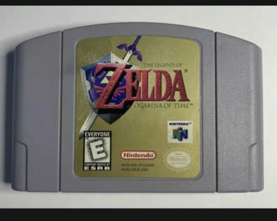 FOR TRADE: Zelda Orcarina of Time N64
