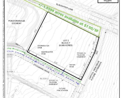 6 Commercial acres on E. Slaughter Ln. and future Capital View Dr.
