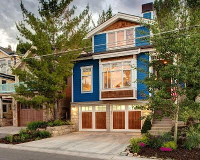 Walk to Main St and Slopes, Hot Tub, Perfect PC Home for Families! Sleeps 8 - Downtown Park City