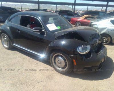 Salvage Black 2012 Volkswagen Beetle