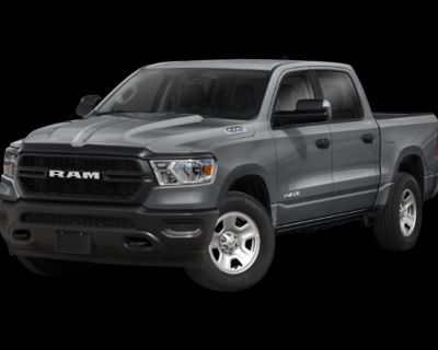 New 2021 Ram 1500 Tradesman 4WD Crew Cab Pickup