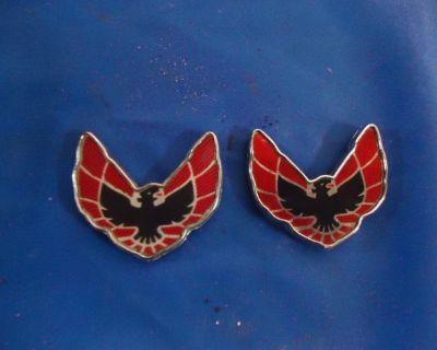 1976,77 Firebird/trans Am Exterior Sail Panel Emblems!!!