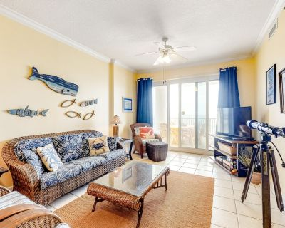 Gulf Front Getaway w/ Free WiFi, Central A/C plus Shared Pools & Hot Tubs - Gulf Shores