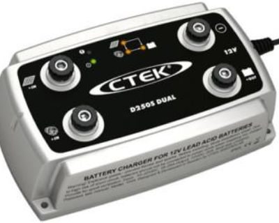 Ctek D250s Dc To Dc Onboard 12 Volt Battery 2 Bank Smart Charger Boat Rv 4x4