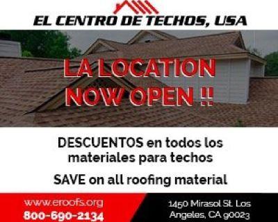 Wholesale Ruffing Supplier- Roofing Discount Center -El Centro De Techos