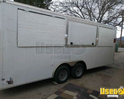2018 - 20' Enclosed Concession Trailer Ready to be Customized