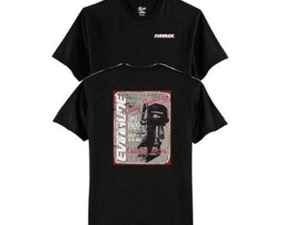 Evinrude Vintage Black Short Sleeve T-shirt