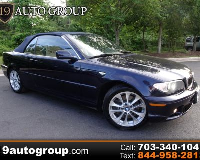 Used 2005 BMW 3-Series 330Ci convertible