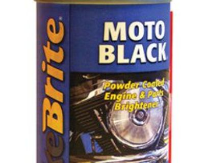 Bike Brite Mc53000 Bike Brite Moto-black 9 Oz