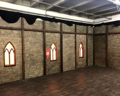 Dungeon or Castle Facade Set-Interior/Exterior Walls, Los Angeles, CA