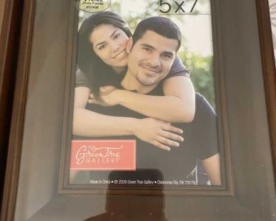 Two 5 X 7 Picture Frames
