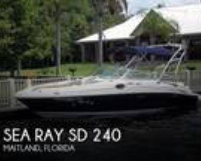 24 foot Sea Ray SD 240