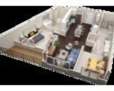 Millworks Apartments - Two Bedroom Two Bath B2