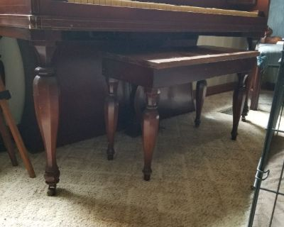 Free Piano and stool by winter of new york