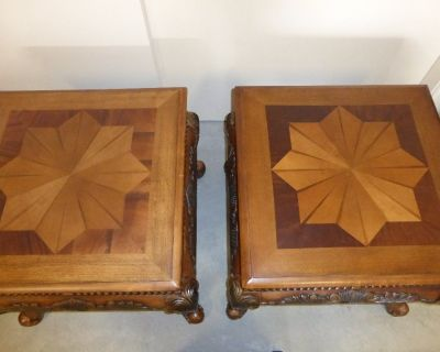 End tables (x2)