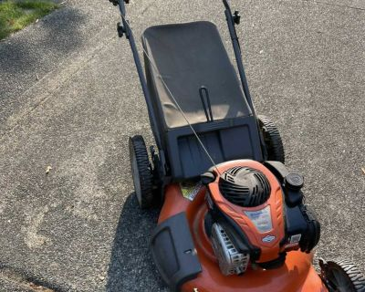 Lawn mower. Still works great! Just upgraded