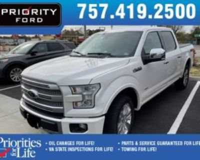 2017 Ford F-150 Platinum SuperCrew 5.5' Box 4WD