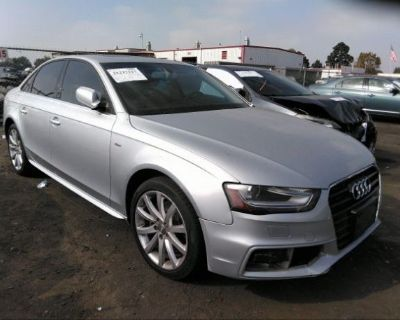 Salvage Silver 2014 Audi A4