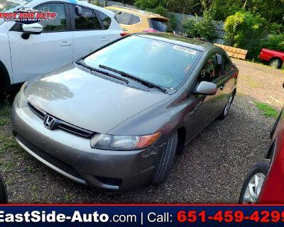 Used 2007 Honda Civic Cpe 2dr AT EX
