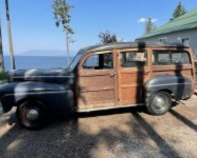 1946 Ford Woodie Wagon Super Deluxe