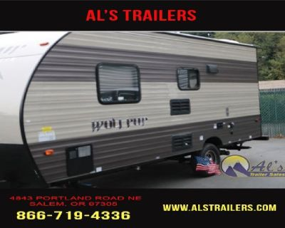 New 2018 Forest River RV Cherokee Wolf Pup 16FQ-Travel Trailer
