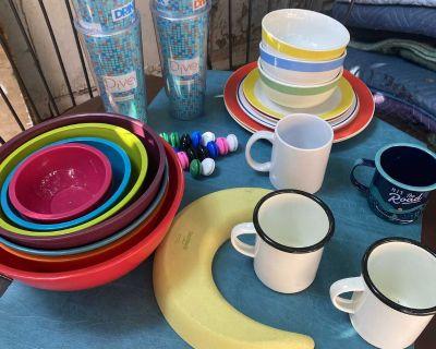 Nesting Bowls, Plates, Mugs & Tumblers