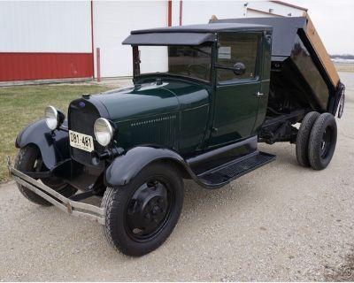 1929 Ford Model A Dump Truck