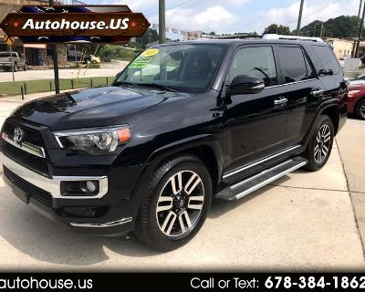 2015 Toyota 4Runner Limited V6 2WD Third Row