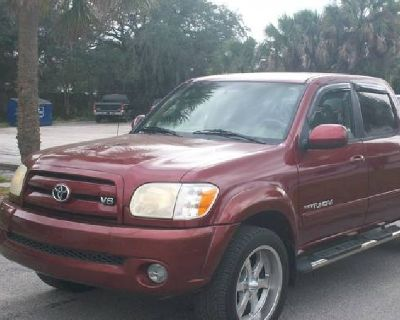 2005 TOYOTA TUNDRA LIMITED CREW CAB 4 WHEEL DRIVE=LEATHER=LOADED=NAV=ROOF=163,OOO MILES