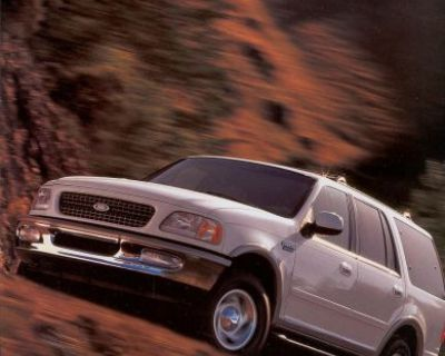 1998 Ford Truck Expedition Sales Brochure Folder 297ann Original Excellent Cond