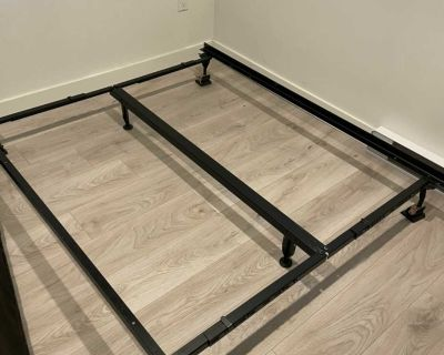 Double or Queen metal bed frame