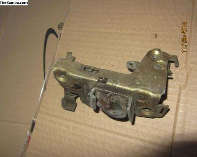 bay window bus door lock mechanism for 74-79 #6