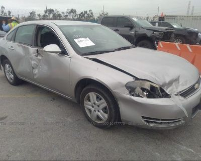 Salvage Silver 2008 Chevrolet Impala