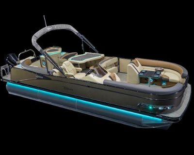 2022 Tahoe Pontoon CASCADE 25' ENT SPP - Tri-Toon