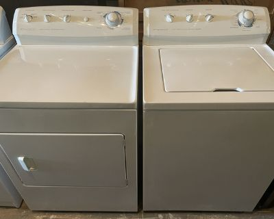 Frigidaire washer and dryer (matching set)