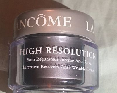 New, never opened! Lanc me High Resolution Intensive Recovery Anti-Wrinkle Cream 1 oz