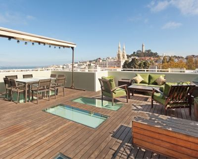 Stunning 2-Bedroom Apartment with Rooftop Deck - Russian Hill