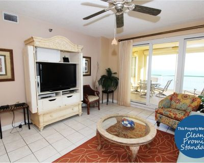 Beach Colony Tower 15D- Beach Front unit with large terrace & amazing views! - Perdido Key