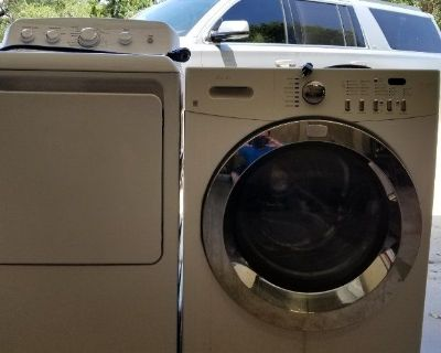 Frigidaire Affinity Washer and GE Dryer for sale